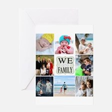 Custom Family Photo Collage Greeting Cards