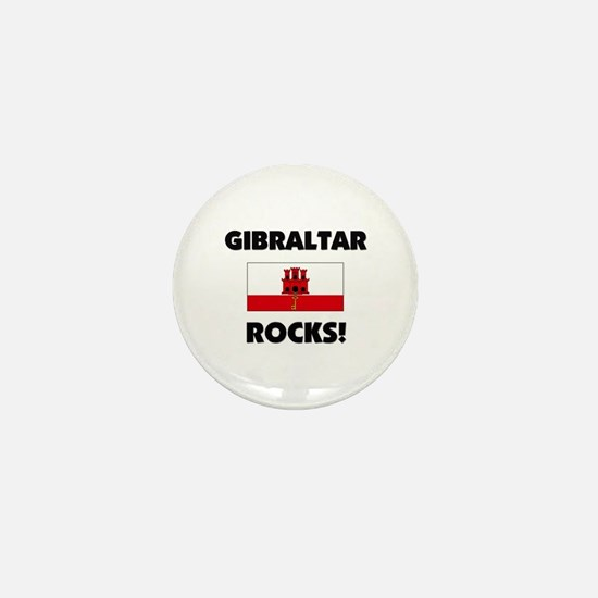 Gibraltar Rocks Mini Button