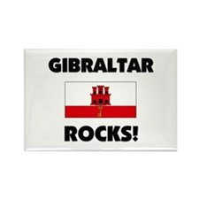 Gibraltar Rocks Rectangle Magnet