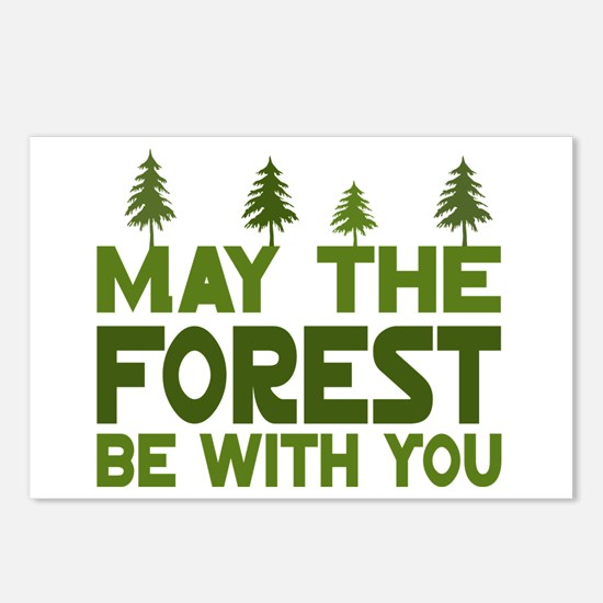 May the Forest.. Postcards (Package of 8)