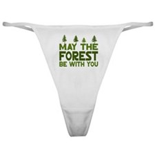 May the Forest.. Classic Thong