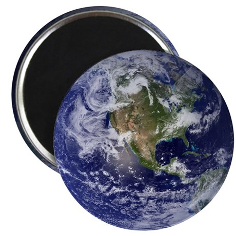 Earth Day Eco Globe Magnet
