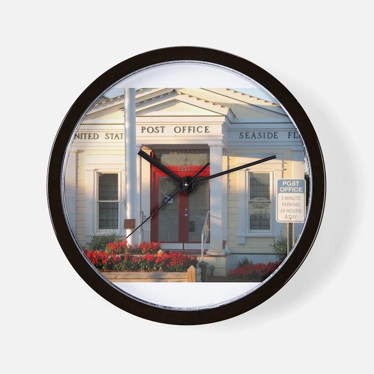 Seaside FL Post Office Wall Clock