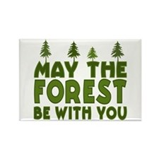 May the Forest.. Rectangle Magnet