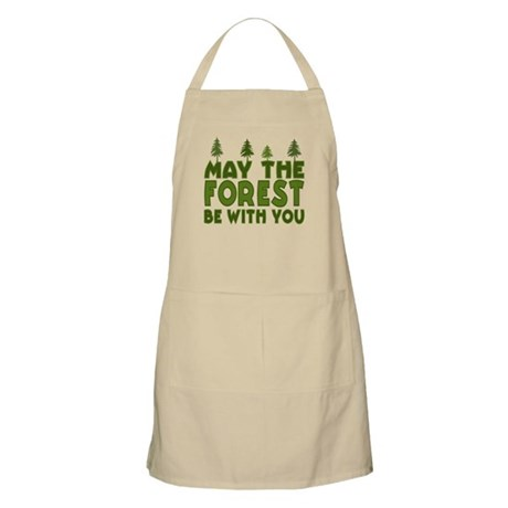 May the Forest.. BBQ Apron