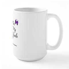 Pancreatic Cancer Uncle Large Mug