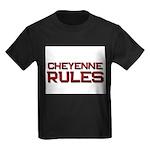 cheyenne rules Kids Dark T-Shirt