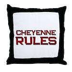 cheyenne rules Throw Pillow