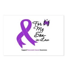 Pancreatic Cancer Son-in-Law Postcards (Package of