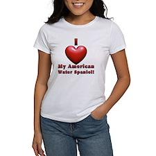 I Heart My Amer Wtr Spaniel! Tee