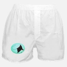 Spotted Eagle Ray Boxer Shorts