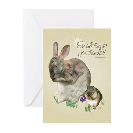 Give Thanks Greeting Cards (Pk of 10)