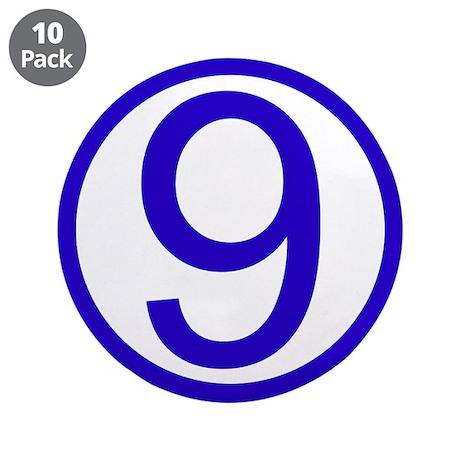 "Cirno (9) 3.5"" Button (10 pack)"