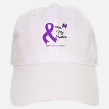 Pancreatic Cancer Sister Baseball Baseball Cap
