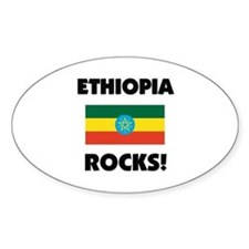 Ethiopia Rocks Oval Decal