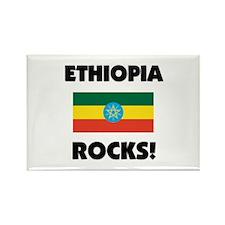 Ethiopia Rocks Rectangle Magnet