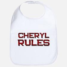 cheryl rules Bib