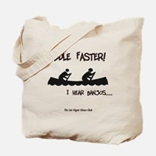 Cute Paddle faster Tote Bag