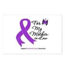 PancreaticCancer MotherInLaw Postcards (Package of