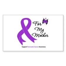 PancreaticCancer Mother Rectangle Decal