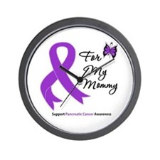 Pancreatic Cancer Mommy Wall Clock