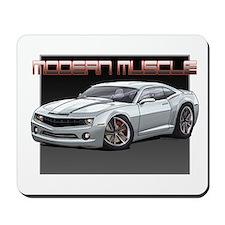 2010 Silver Camaro Mousepad