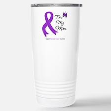 Pancreatic Cancer Mom Travel Mug