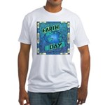 Earth Day 2 Fitted T-Shirt