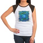 Earth Day 2 Women's Cap Sleeve T-Shirt