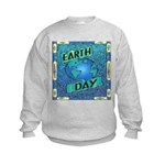 Earth Day 2 Kids Sweatshirt
