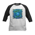 Earth Day 2 Kids Baseball Jersey