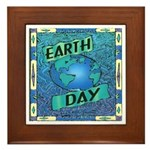 Earth Day 2 Framed Tile