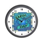 Earth Day 2 Wall Clock