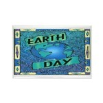 Earth Day 2 Rectangle Magnet