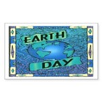 Earth Day 2 Rectangle Sticker