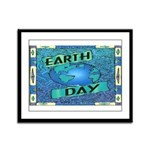 Earth Day 2 Framed Panel Print