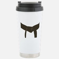 Martial Arts Brown Belt Stainless Steel Travel Mug