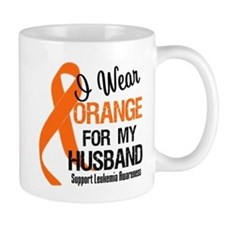 I Wear Orange For My Husband Mug