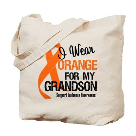 I Wear Orange For My Grandson Tote Bag