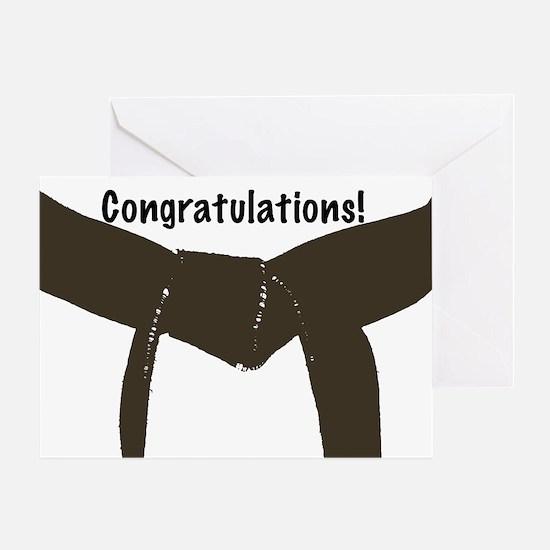 Martial Arts Congratulations Brown Belt Card