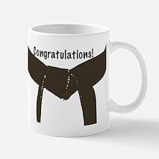 Martial Arts Congratulations Brown Belt Mug