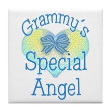 Grammy's Special Angel Tile Coaster