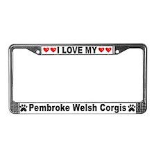 Love/Hearts Pembroke Corgis