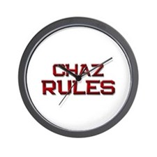 chaz rules Wall Clock