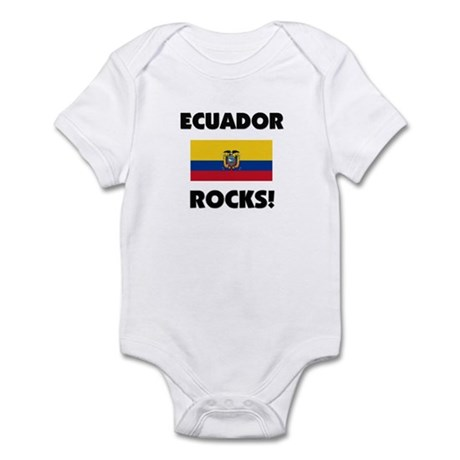 Ecuador Rocks Infant Bodysuit