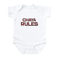 chaya rules Infant Bodysuit
