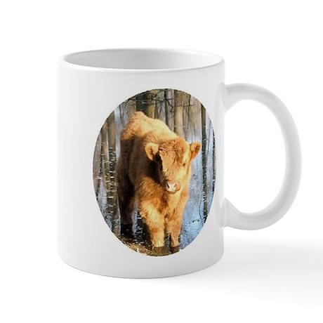 Scottish Highland Coo's Mug