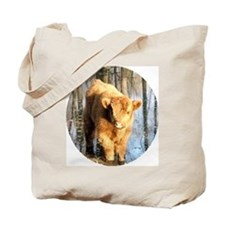 Scottish Highland Coo's Tote Bag
