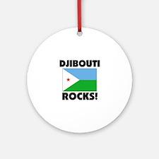 Djibouti Rocks Ornament (Round)