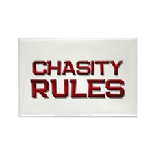 chasity rules Rectangle Magnet